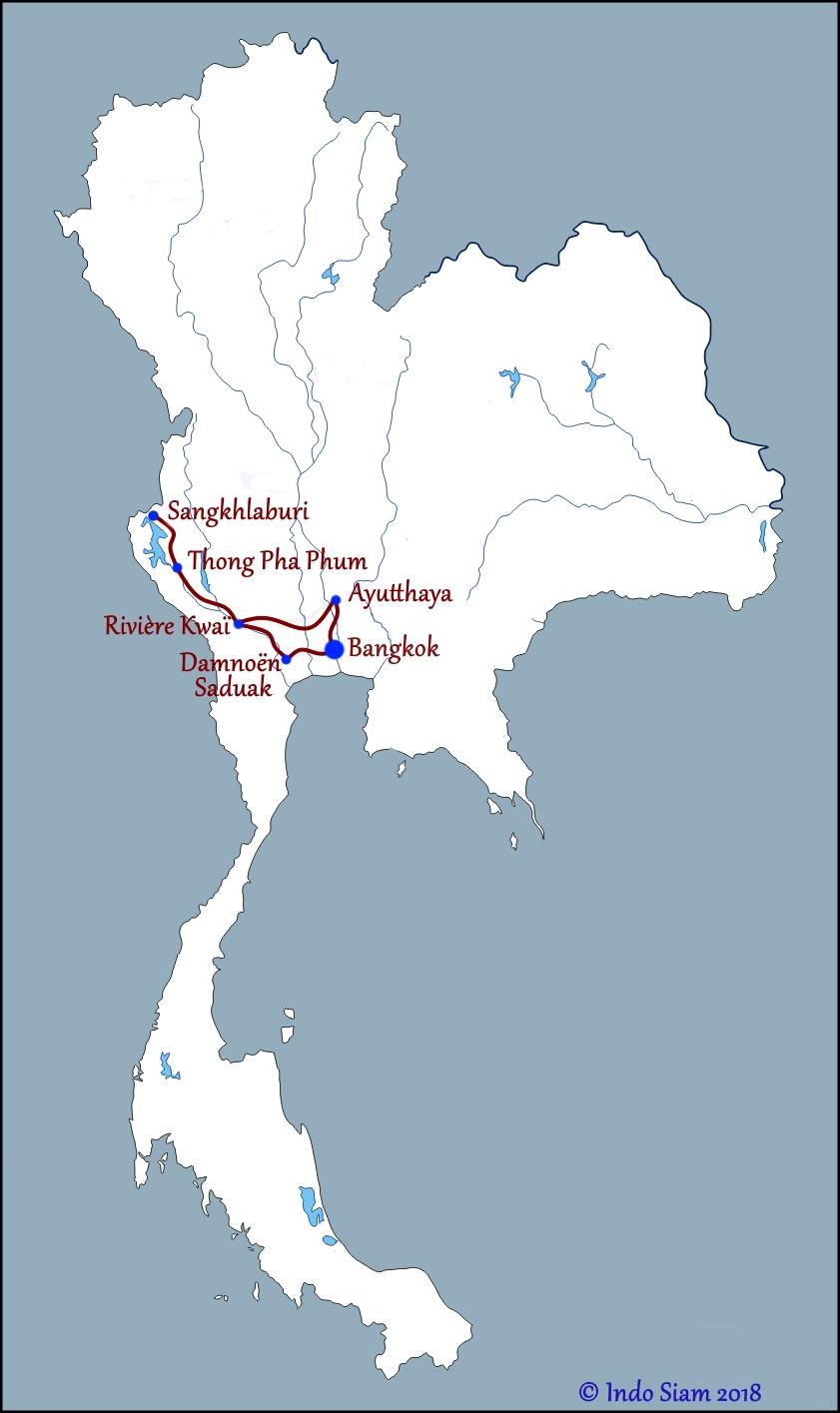 Rivière Kwaï et Sangkhlaburi