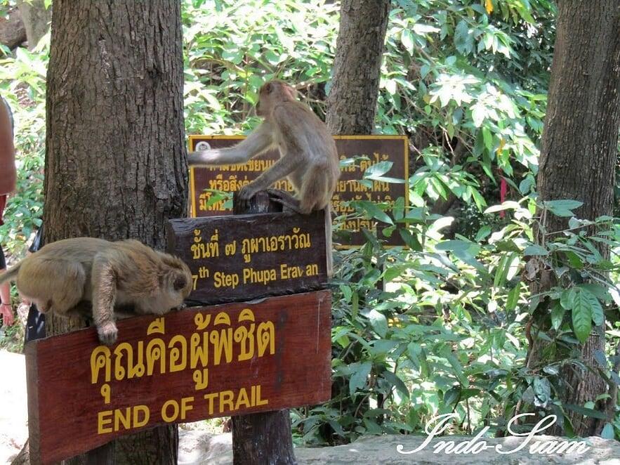 Parc national Erawan, Kanchanaburi