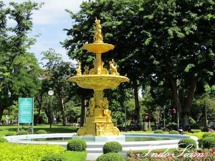 Jardin royal Saranrom, Bangkok