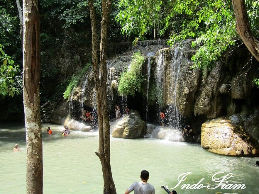 Parc Erawan, Kanchanaburi