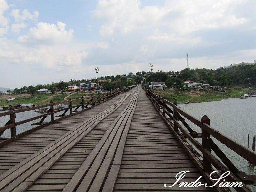 Pont Mon à Sangkhlaburi