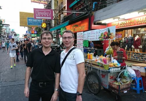 Eric et Christian Van Ophaeren